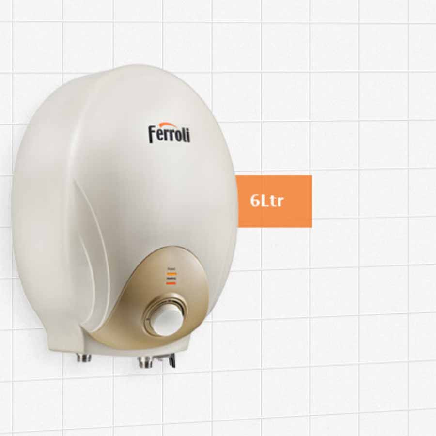Ferroli Electric Storage Water Geyser MITO 6
