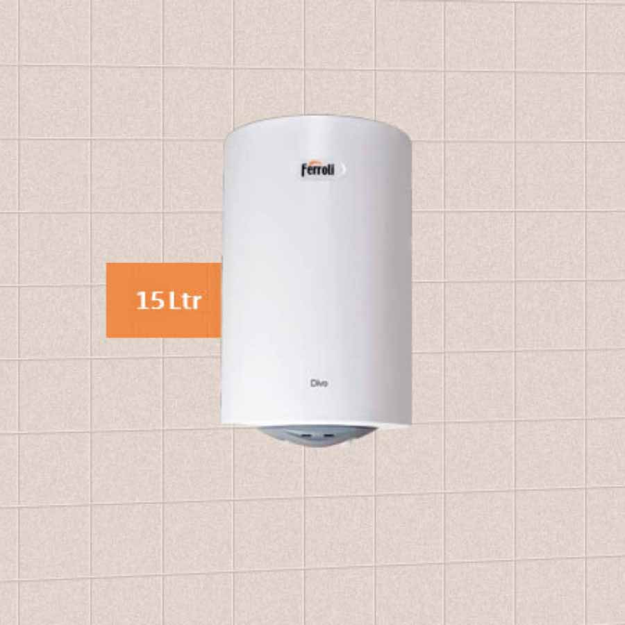 Ferroli Electric Storage Water Geyser DIVO 15V