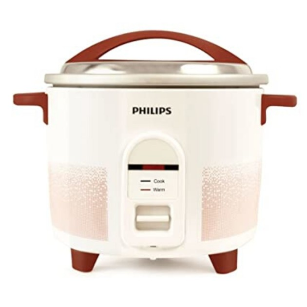 Philips Single Pan 1.8Litre Rice Cookers (HL1663/00)