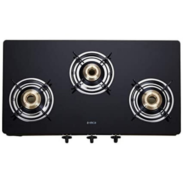 Elica Vetro 7033 CT 3 Burner Gas Stove