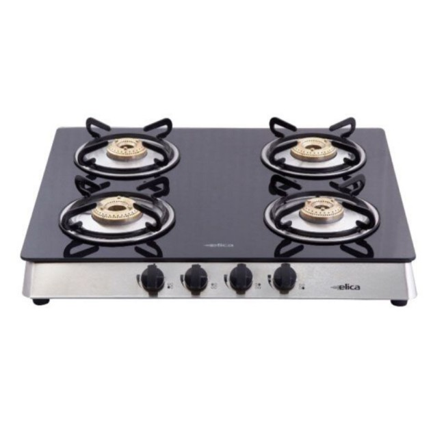 Elica Vetro 594 CT 4 Burner Gas Stove