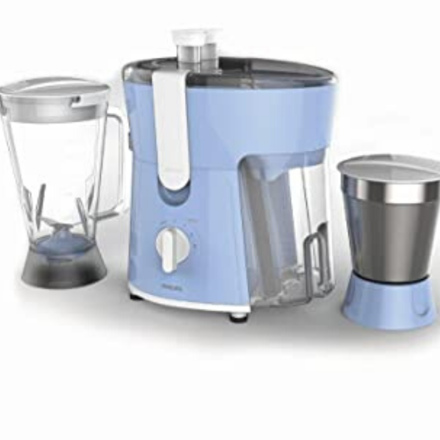 Philips Juicer Mixer Grinder 600W In Blue(HL7575/00)