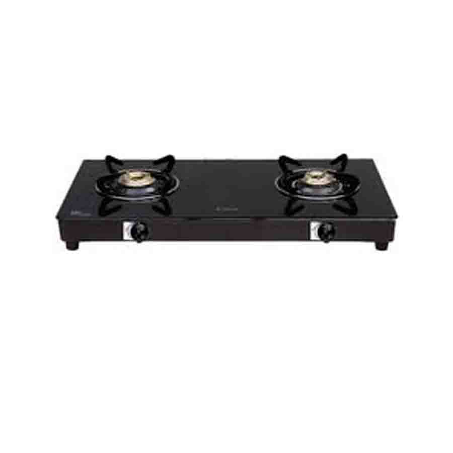 Elica CT VETRO 2 Burners Cooktop ( 662,Black)