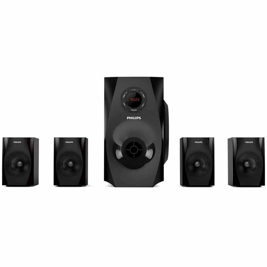 Philips 2.0 Tower Speakers Black (70watts)