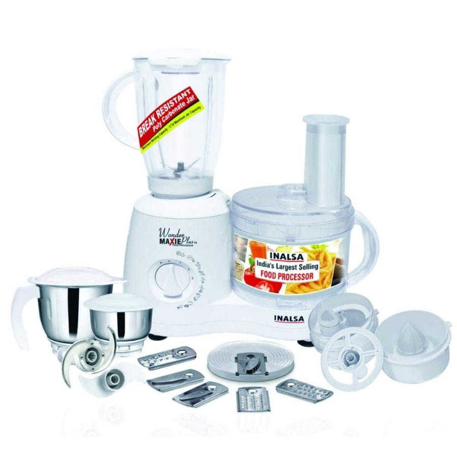 Inalsa Wonder Maxie Plus V2 Food Processors