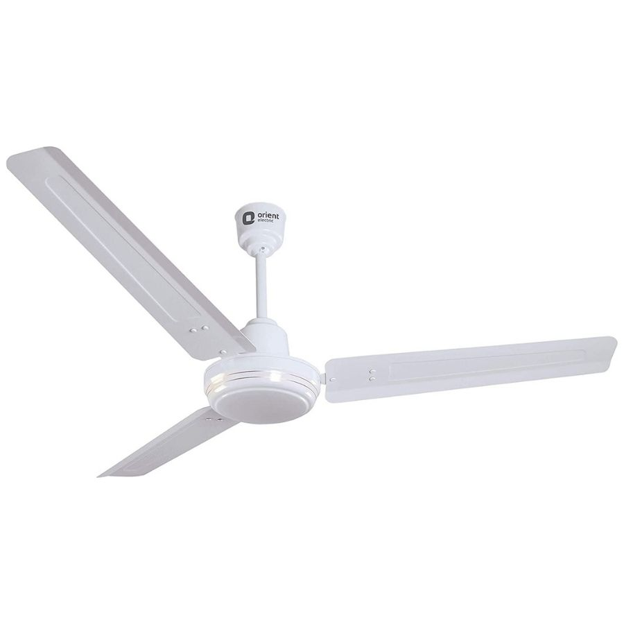 Orient Electric New Breeze,1200mm Ceiling Fan(White/Brown)