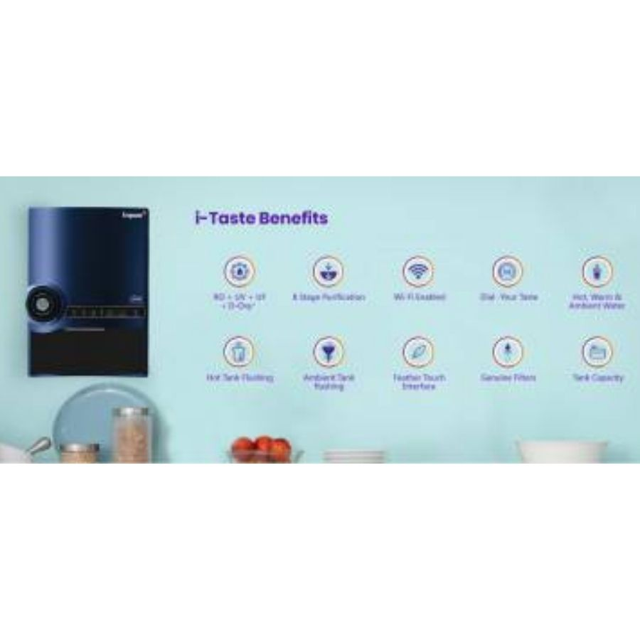 LivPure I-Taste Water Purifier(RO+UV+UF+Antioxidants)