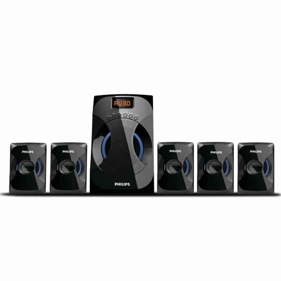 Philips SPA4040B/94 Multimedia Speakers Black (45watts)