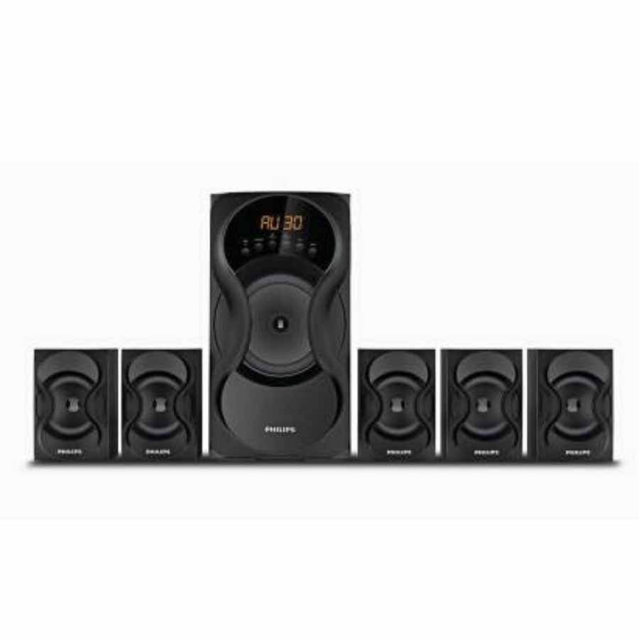 Philips SPA5162B/94 Multimedia Speakers Black (90watts)