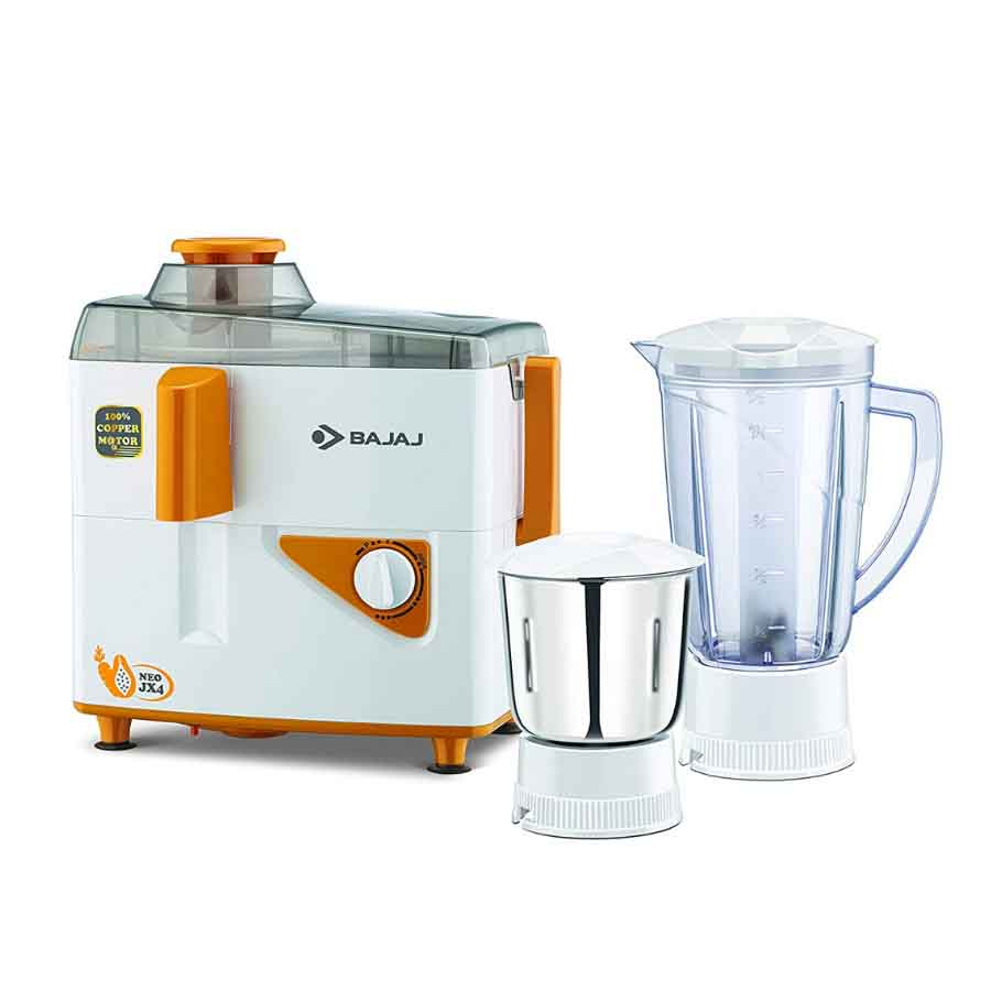 Bajaj NeoJX-4 Juicer Mixer and Grinder 450-W
