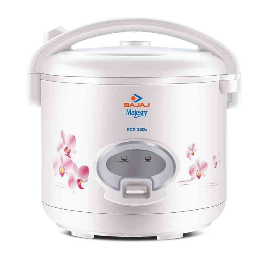 Bajaj 2.8 L Electric Rice Cooker Majesty RCX 2.8 DLX(White)