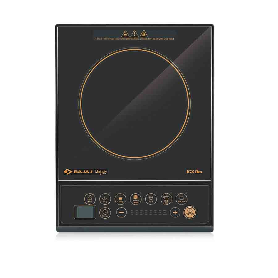 Best Bajaj 7 Pre Set Menus ICX Neo Induction Cooker(Black)