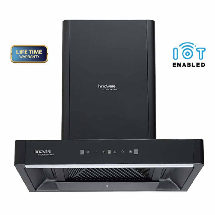 Hindware Maxx Optimus Black Chimney