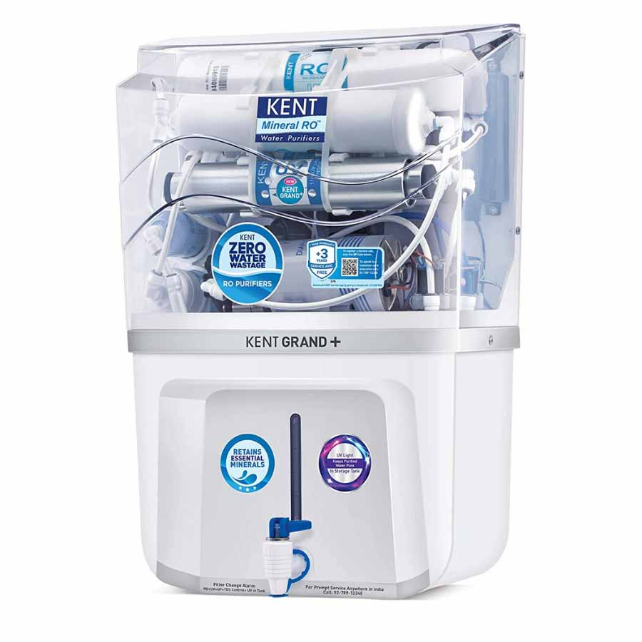 Kent Grand+ Ro Water Purifier With UV Disinfection Light