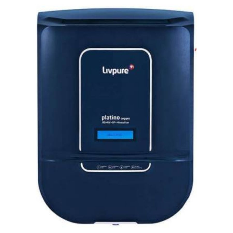 LivPure Platino Copper Water Purifier(RO+UV+UF+Mineraliser)