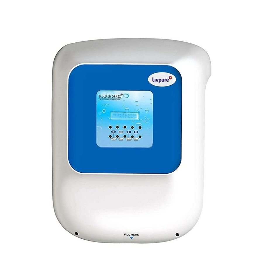 LivPure Touch2000+ Water Purifier(RO+UV+UF+Taste Enhancer)