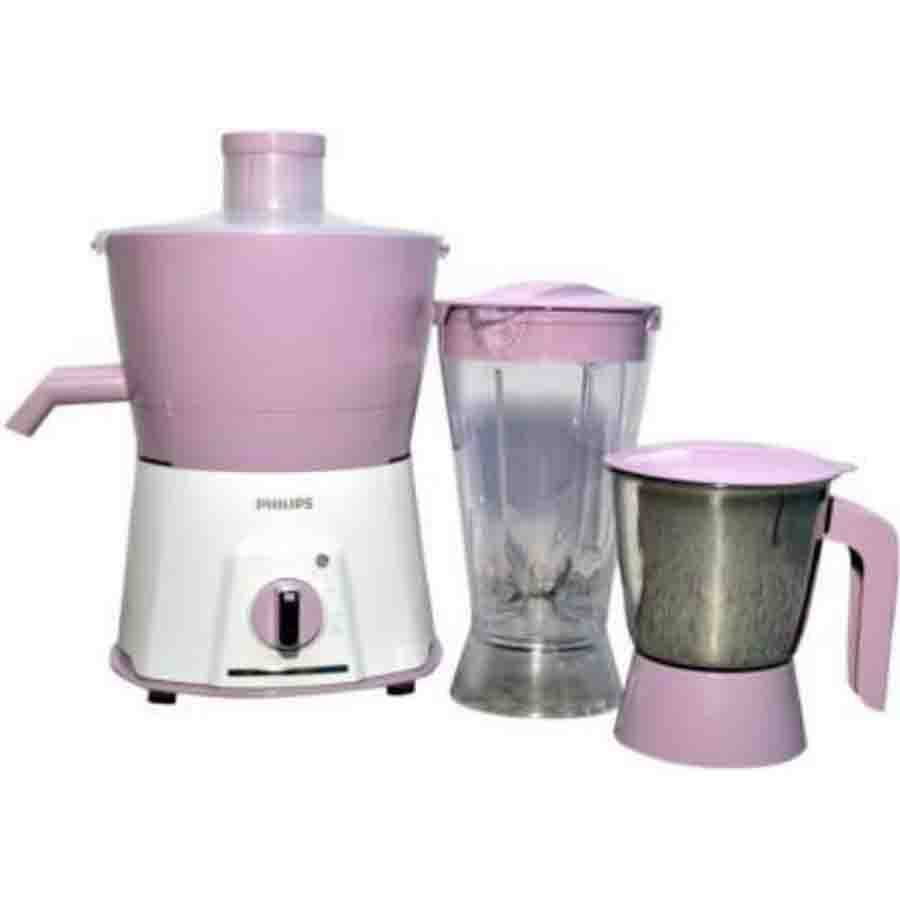 Philips JMG HL75780 Juicer Mixer Grinder(Pink,2 Jars)