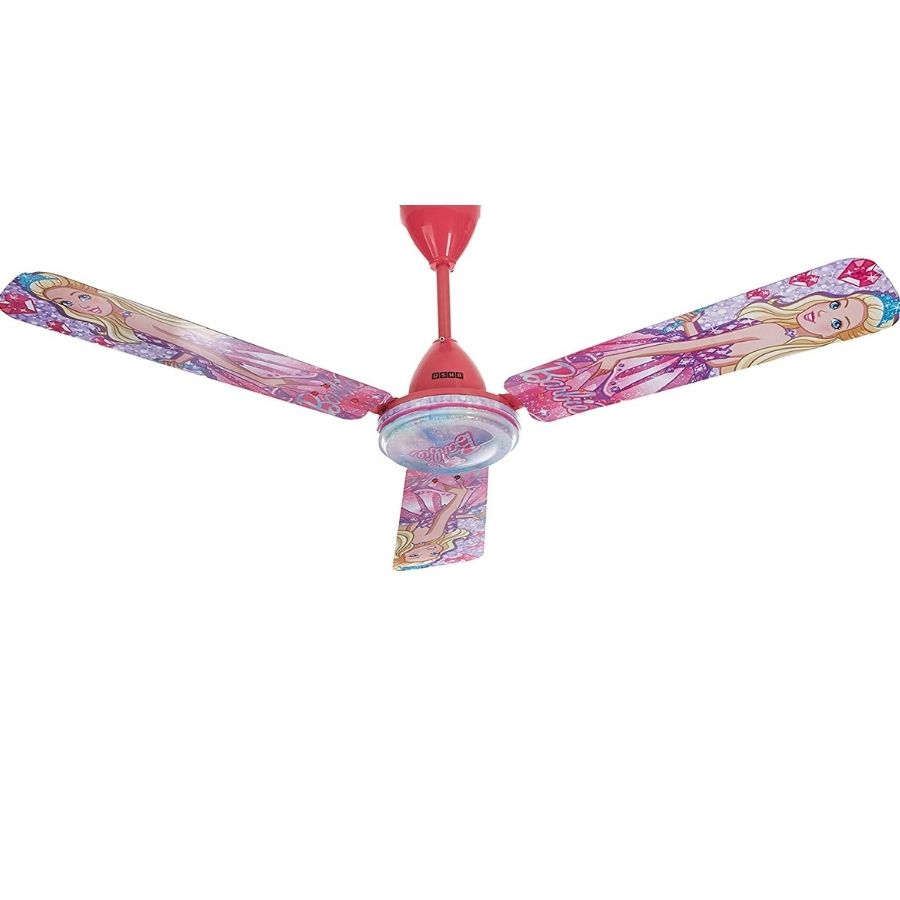 Usha Barbie Dreamtopia Celing Fan with Remote