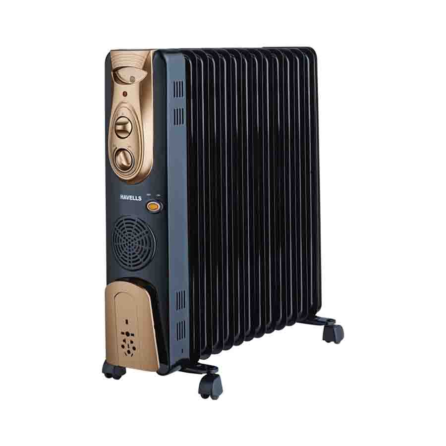 Havells OFR 13 Wave Fins With Fan Heater