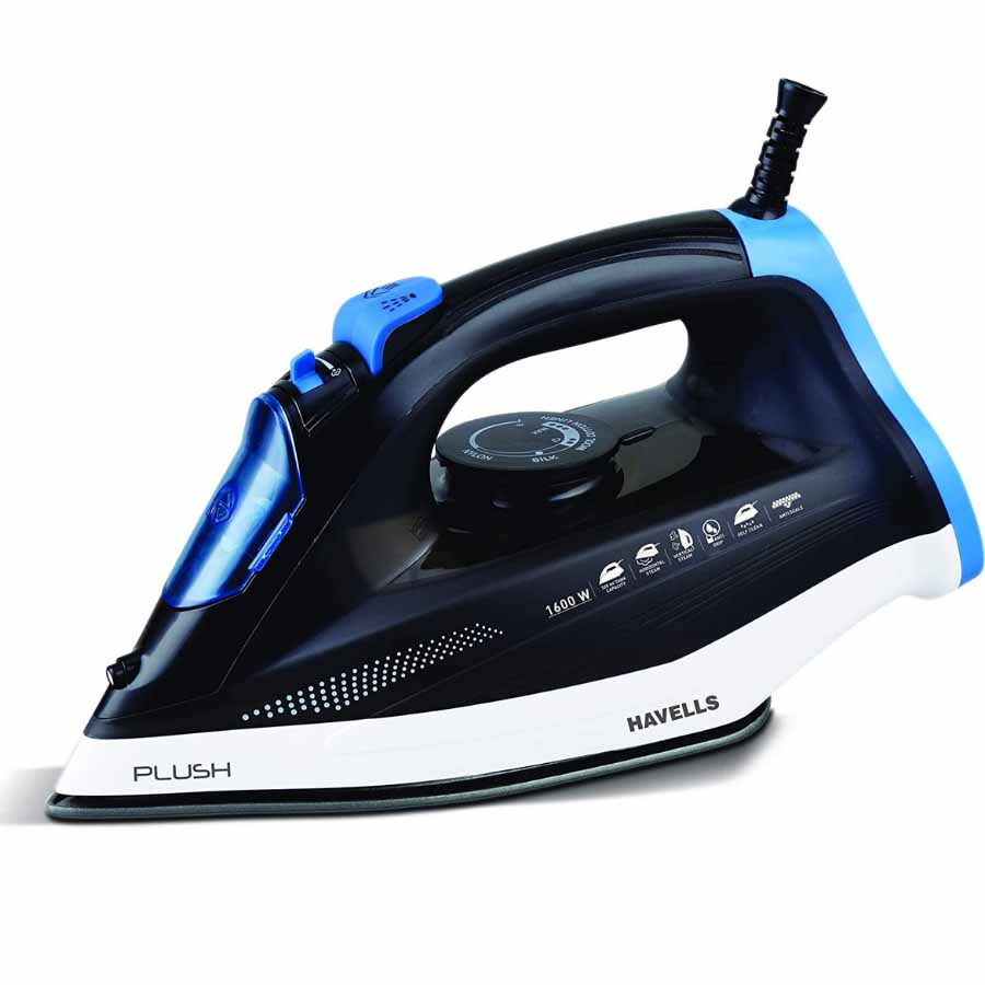 Havells Plush Steam Iron (Black)