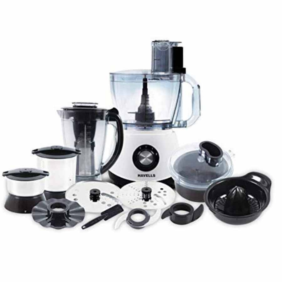 Havells Benzo 1200 W Food Processor(Black,White)