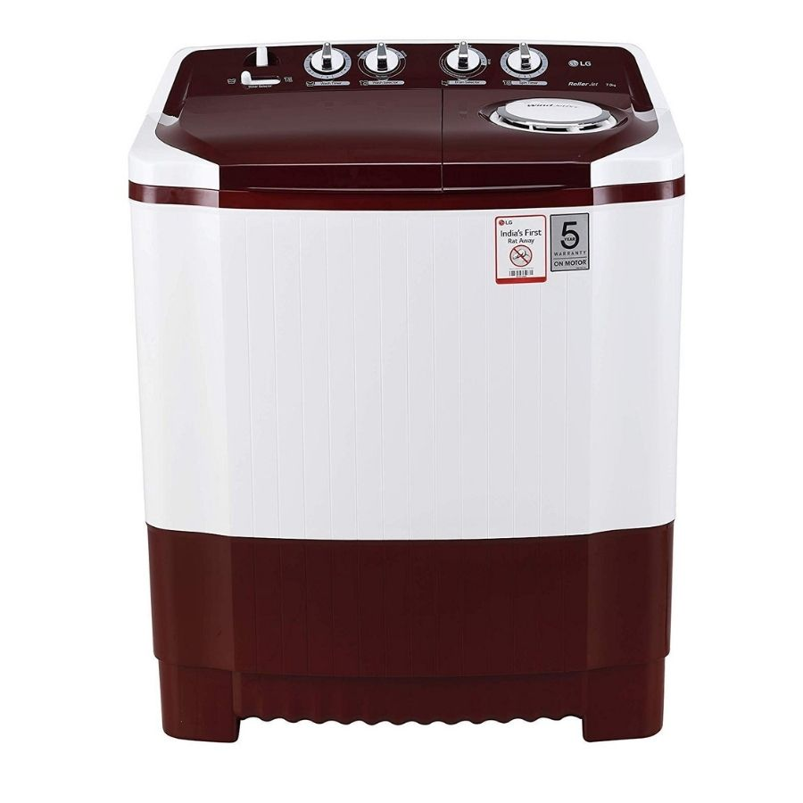 LG Semi-Automatic Top Loading Washing Machine(P7010RRAA)