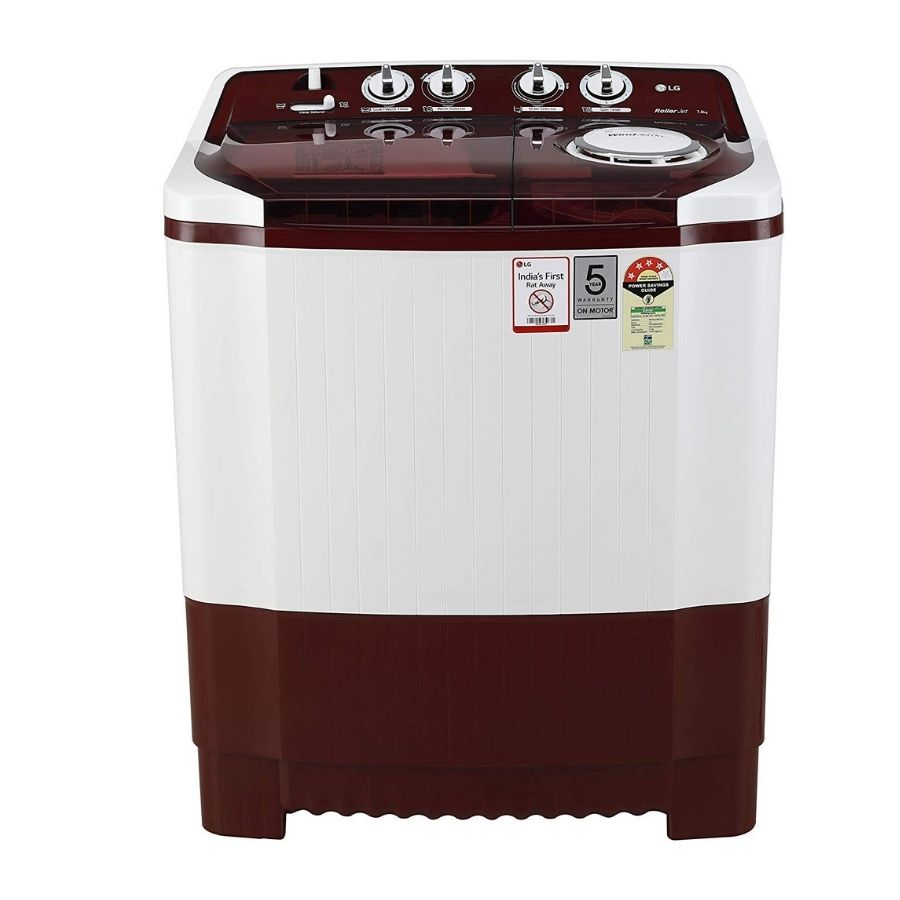 LG Semi-Automatic Top Loading Washing Machine (P7015SRAY)
