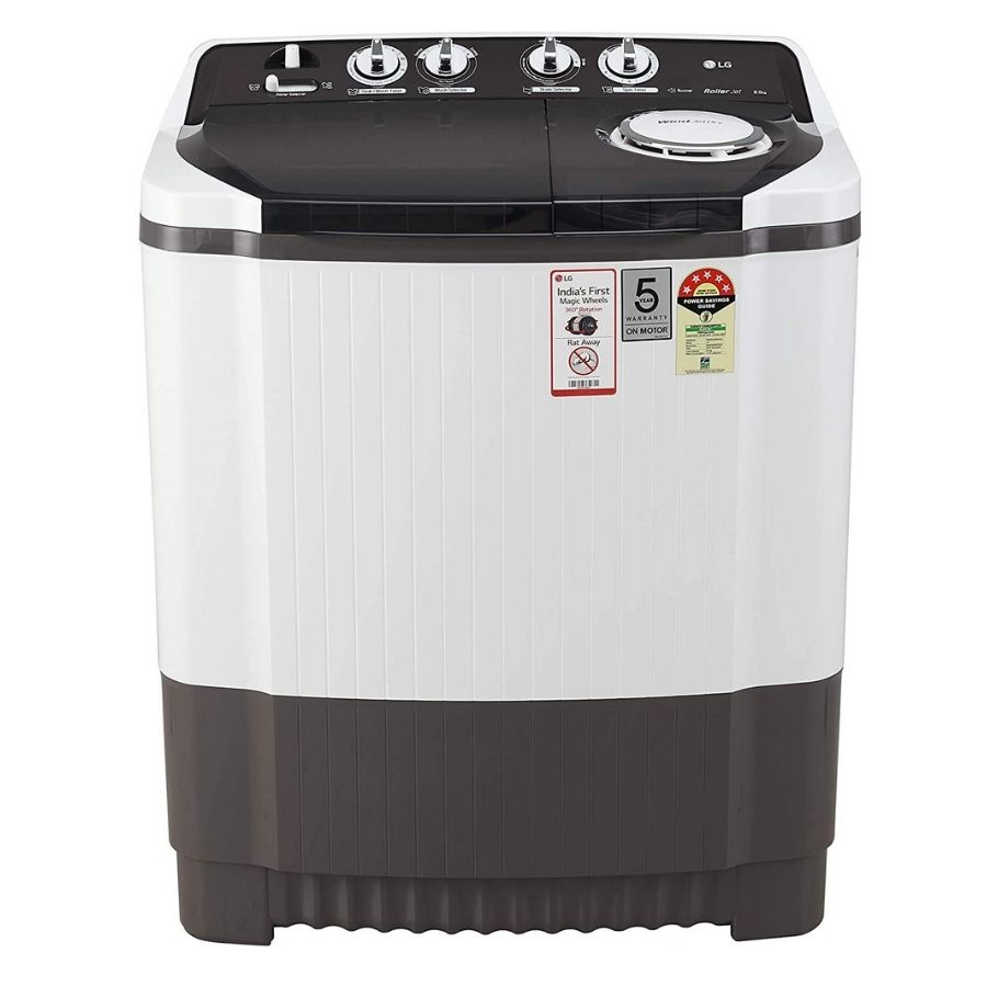 LG Semi-Automatic Top Loading Washing Machine (P8035SGMZ)