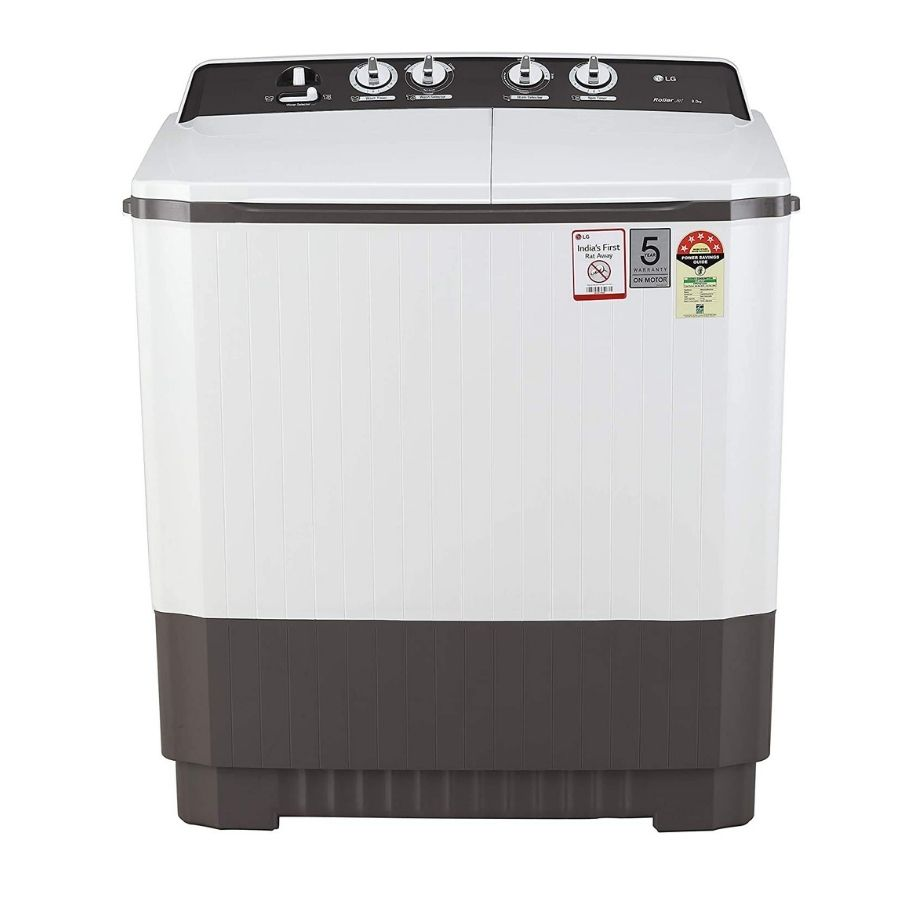 LG Semi-Automatic Top Loading Washing Machine (P9040RGAZ)