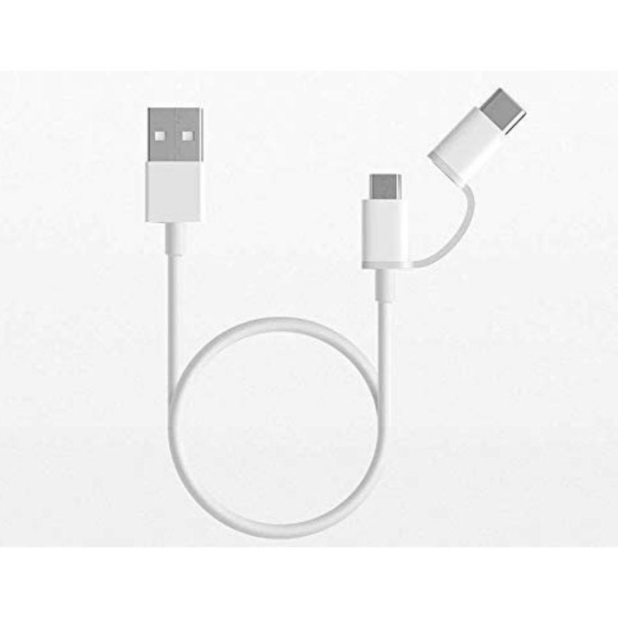 Mi Original 2-in-1 USB Cable (White)