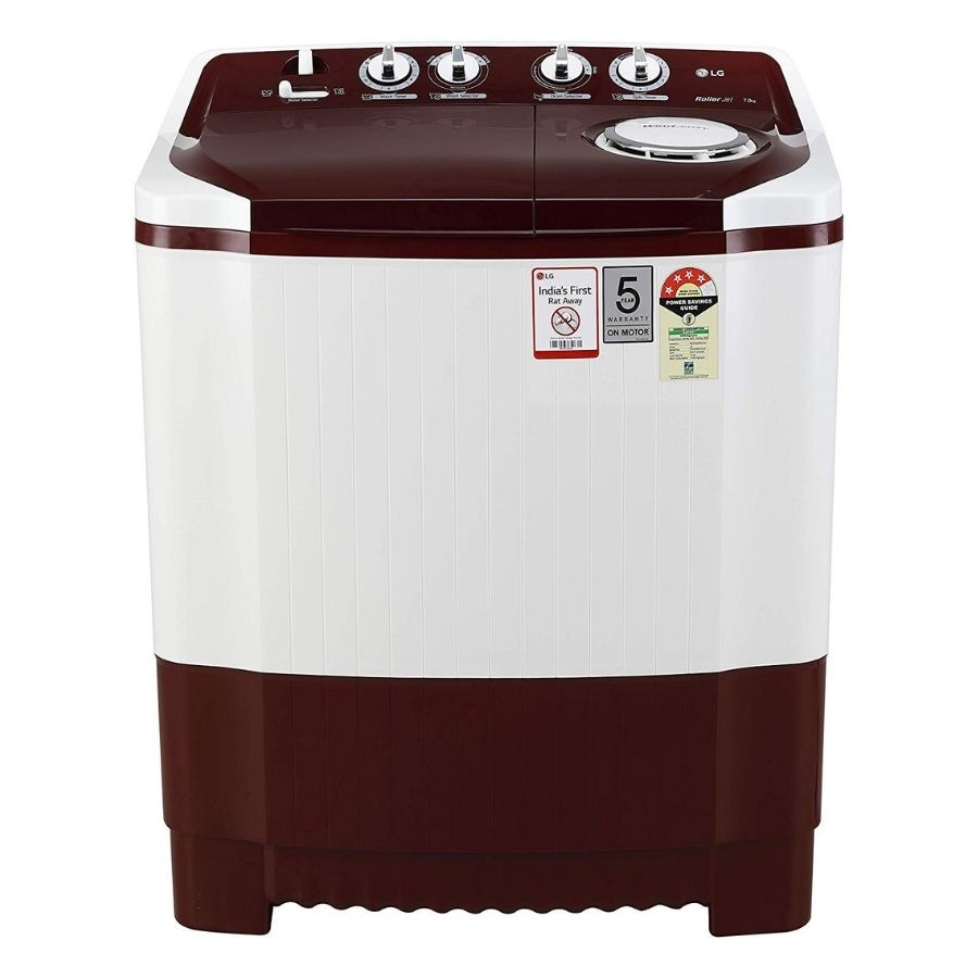 LG Semi Automatic washing Machine(P7010RRAY)