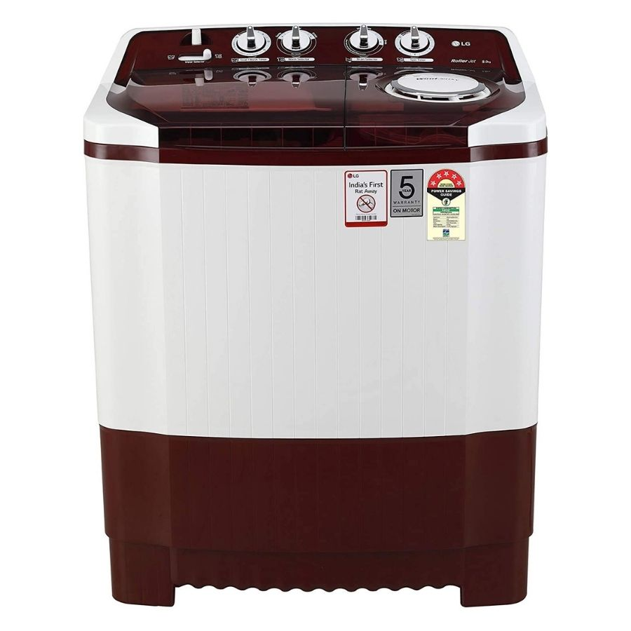 LG Semi-Automatic Top Loading Washing Machine (P8035SRMZ)