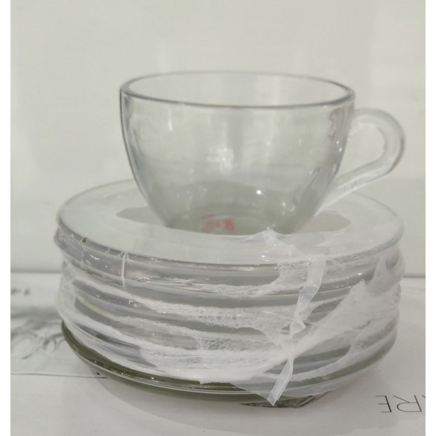 Soogo Mosek Tea cup With Saucers Set of 12 PCS