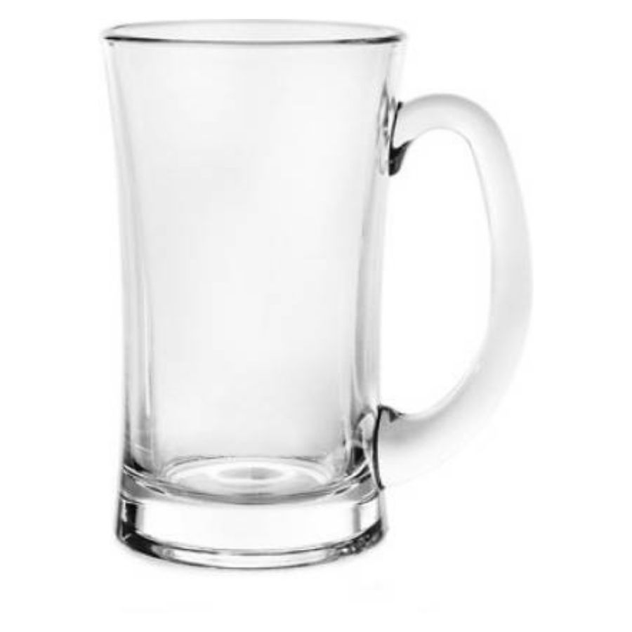 Good Living Playboy Glass Mug,370 ML