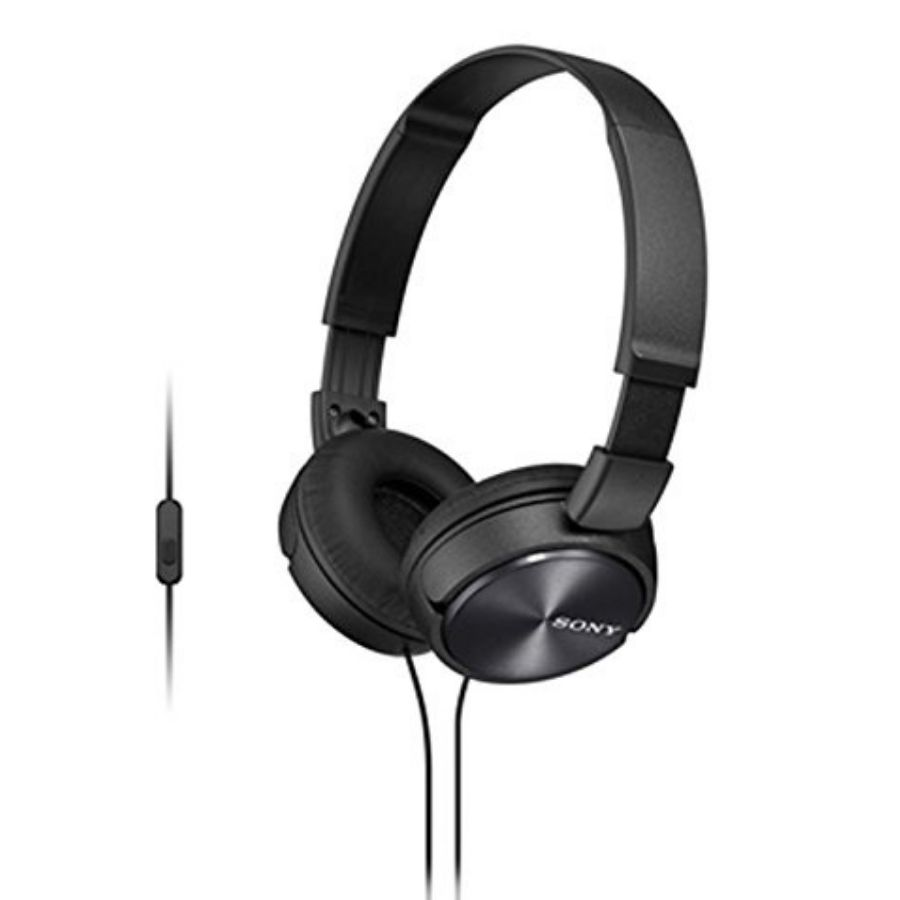 Sony MDR-ZX310AP On Ear Headphone (Black)