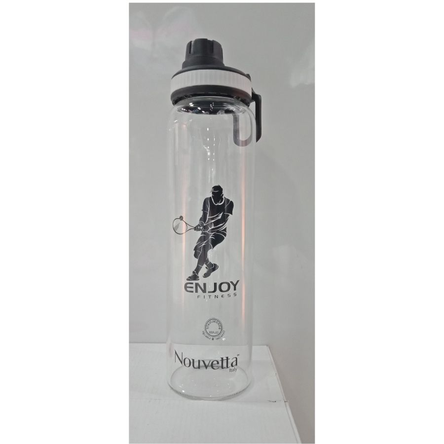 Nouvetta Borosilicate Glass Water Bottle,1000 ML