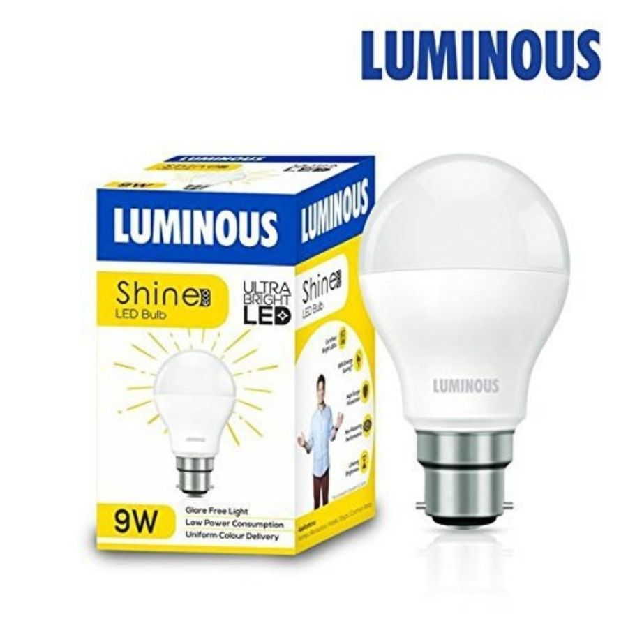 Luminous 9W LED LAMP SHINE ECO B22D CDL LED Blub