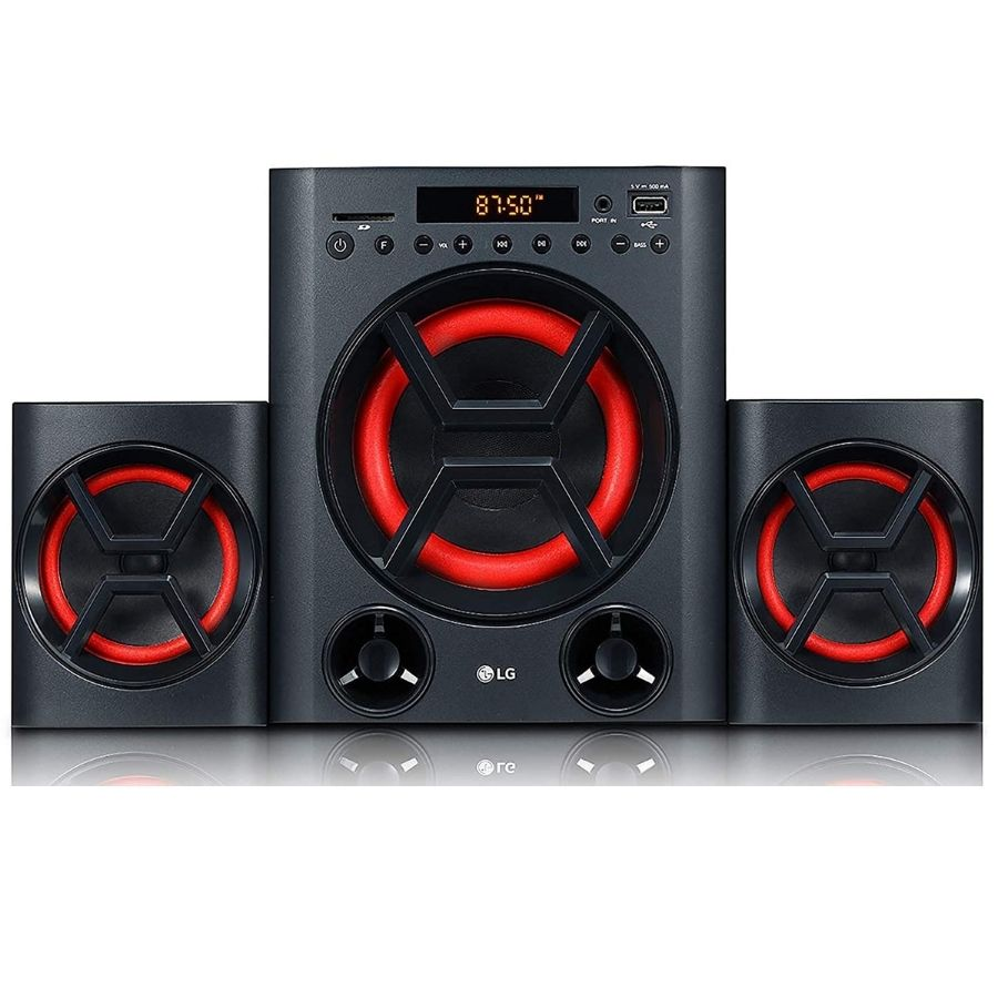LG - LK72B Boom Blastic Multimedia Speakers