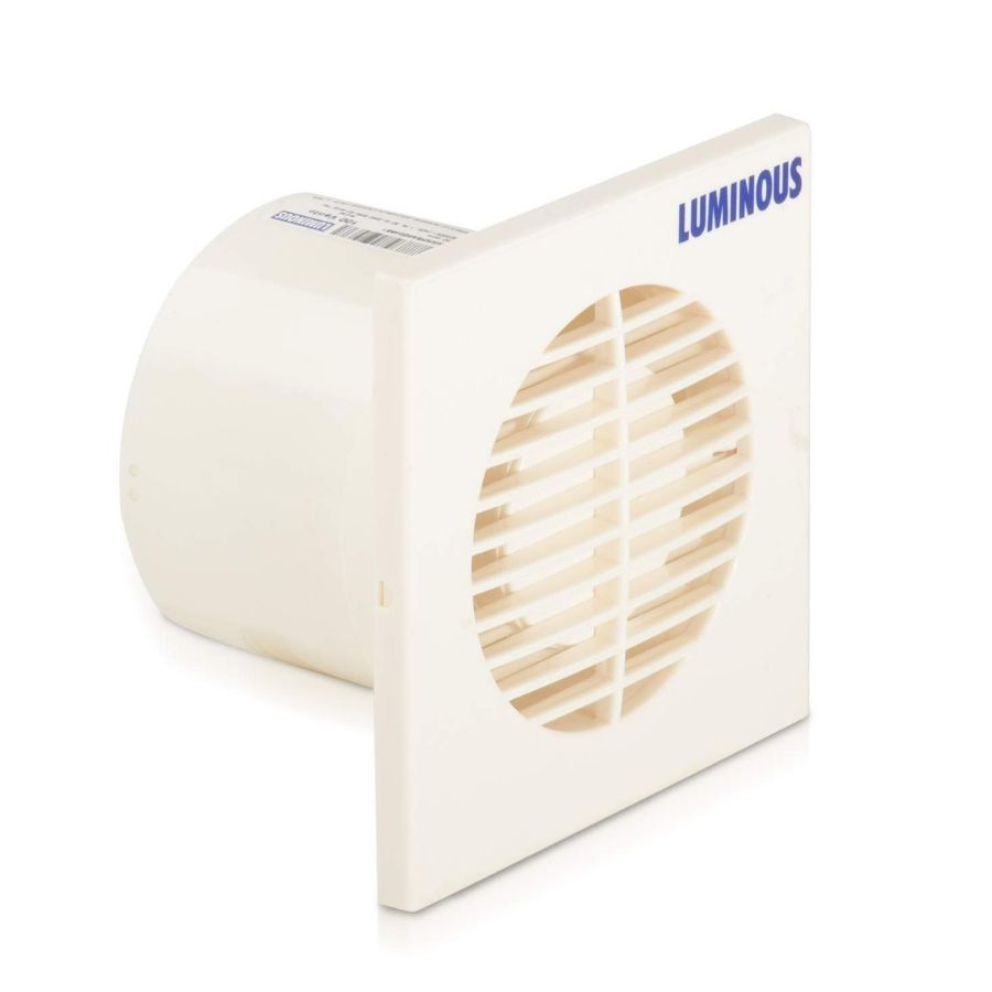 Luminous Plastic Vento Axial Exhaust Fan (White)