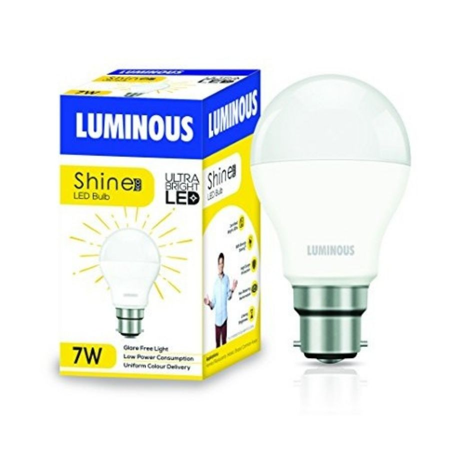 Luminous 7W LED LAMP SHINE ECO B22D WW LED Blub